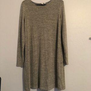 Gap gold thread dress